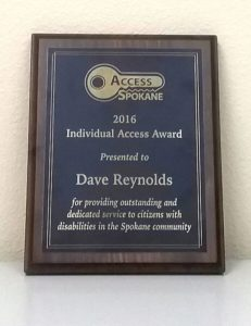 Access Spokane 2016 Individual Access Award